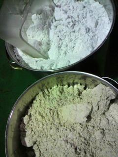 フィルターに使う珪藻土