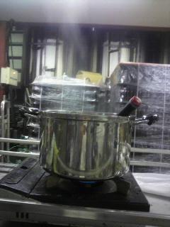 工場でホットビール