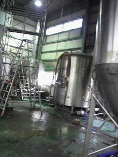 すっかり寂しくなった工場。